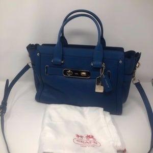 Swagger Colorblock 27 Blue/Denim Satchel
